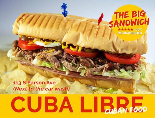 CUBA LIBRE CUBAN FOOD